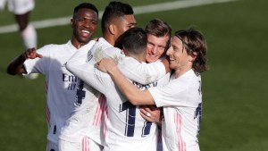 Real Madrid take all three points
