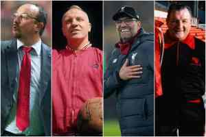 All Liverpool Managers