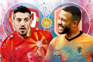 Macedonia Vs Netherlands Confirmed Lineups