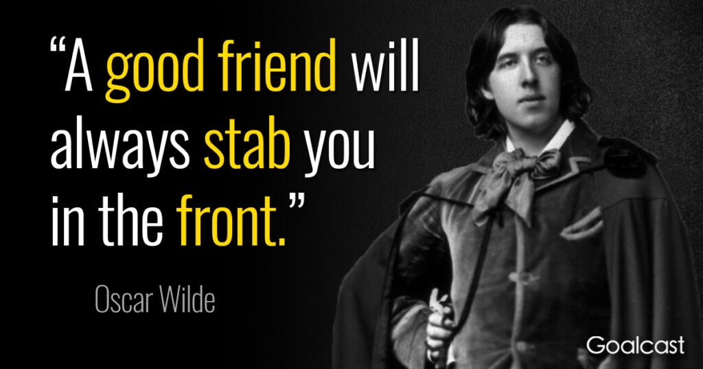 oscar-wilde-quote-good-friend-stab-front