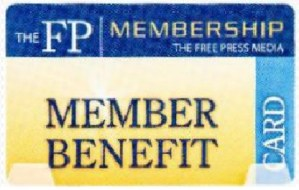 Member Benefit Card for Free Press
