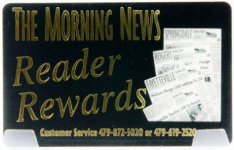 Reader Rewards for the Morning News