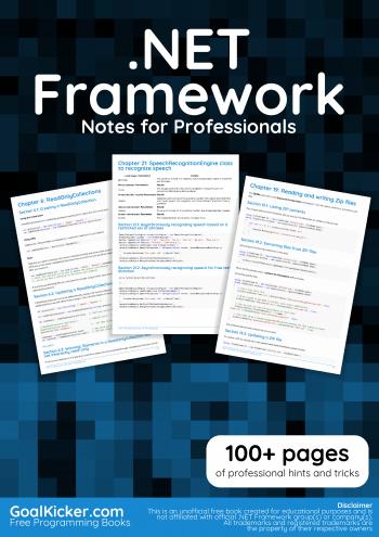 .NETFramework book