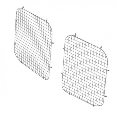 Ranger Design Set of 2 rear window grills, steel wire