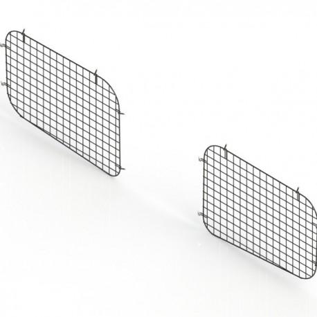 Ranger Design Set of 2 sliding door window grills, steel