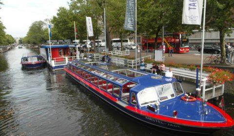Amsterdam wycieczka po kanałach