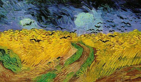 Muzeum Van Gogha - Pole pszenicy z krukami