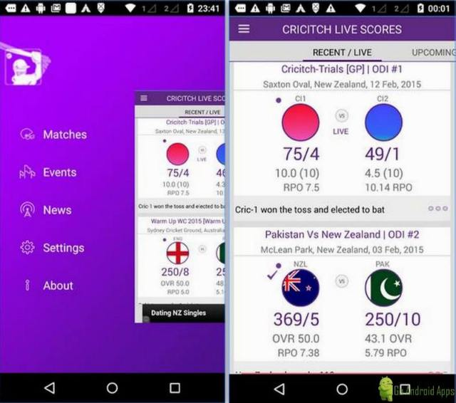 LIVE cricket Scores App
