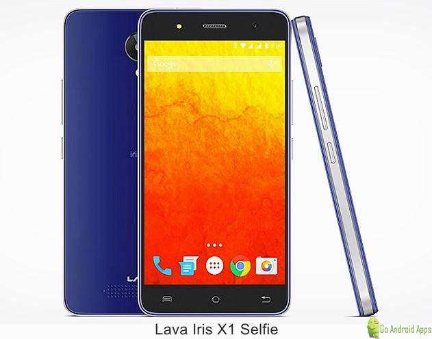 Lava Iris X1 Selfie