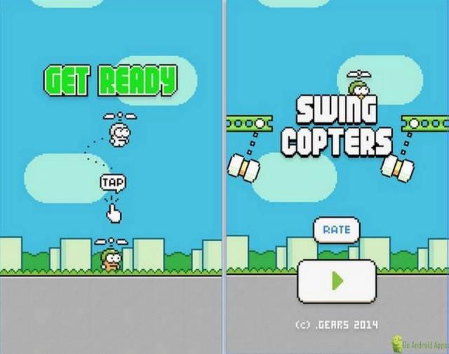 Swing Copters App