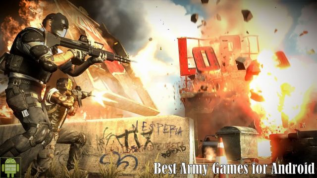 Best Army Games for Android