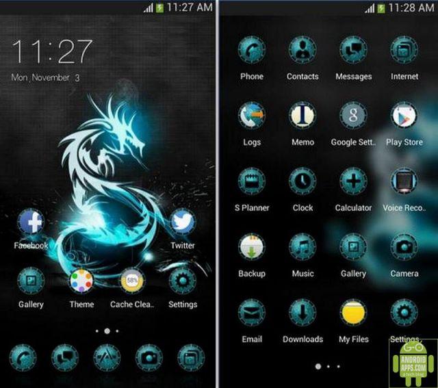 Dragon Magic Game Totem Theme App