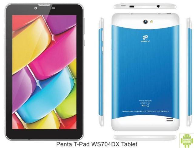 Penta T-Pad WS704DX Tablet