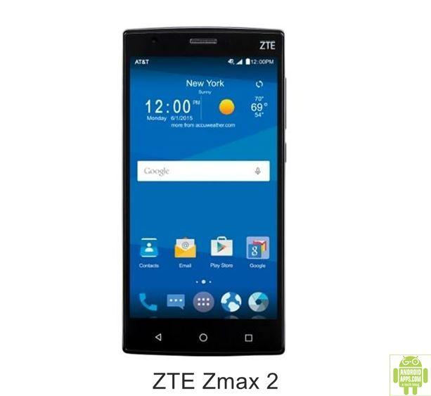 ZTE Zmax 2 Mobile