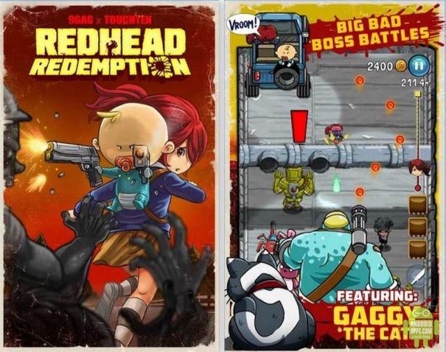 9GAG Redhead Redemption App