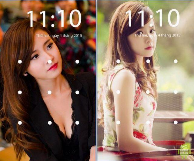 Lock screen pattern App