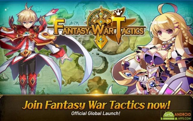 Fantasy War Tactics Game