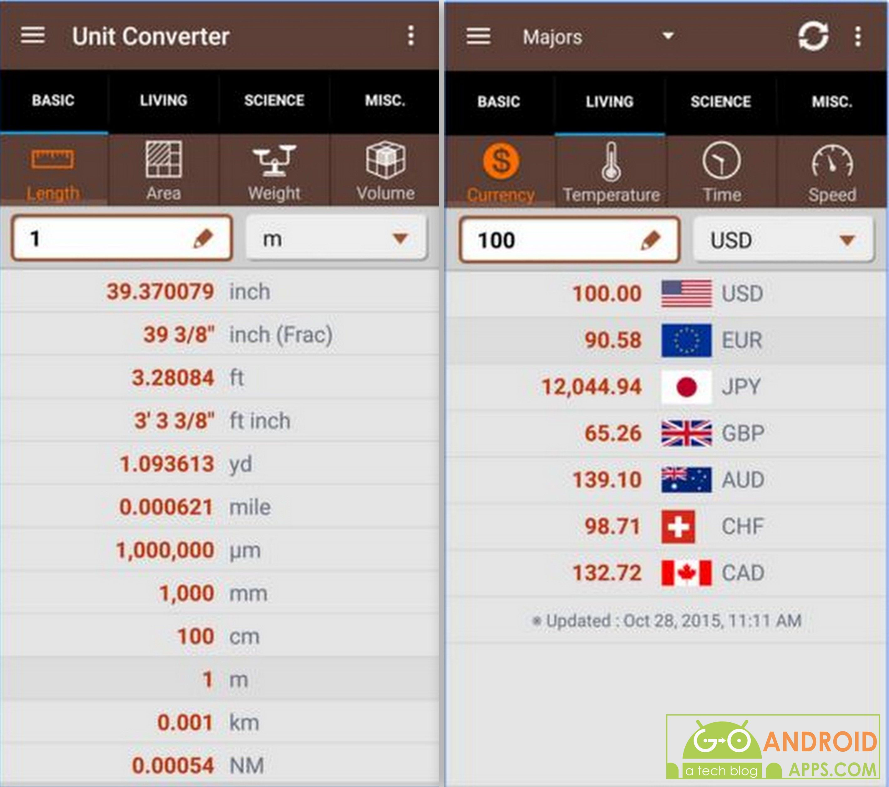 unit converter app android unit converter android unit converter app