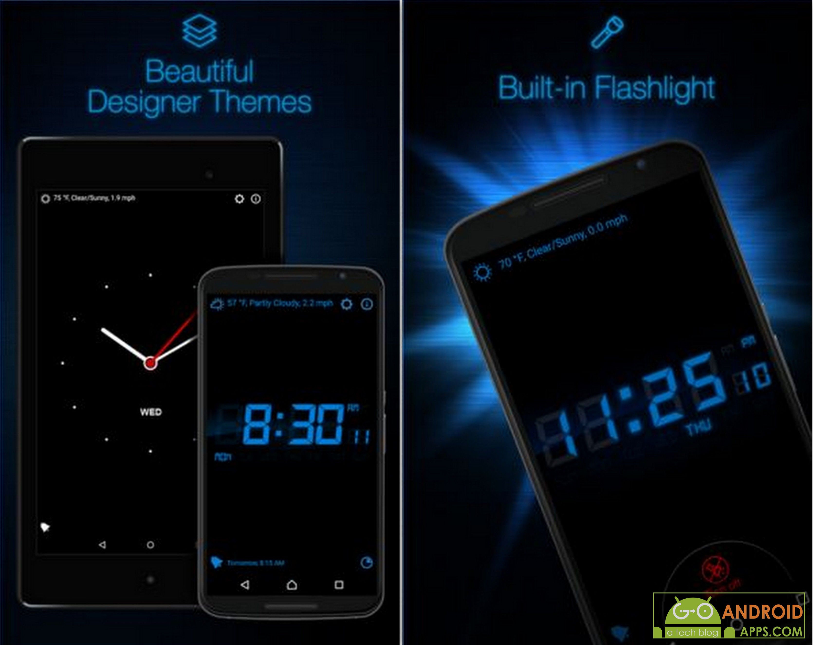 Phone Where Is The Alarm Clock On My Android Phone best alarm clock apps for android 2016 go use two stylish styles which are available keep track of weather and temperature details too download this app today my fr