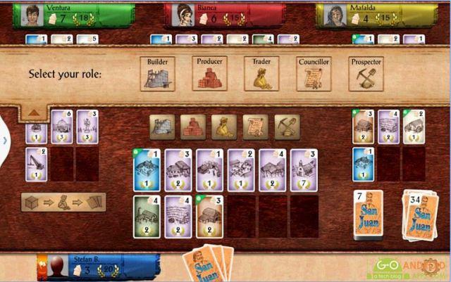 San Juan Android Card Game