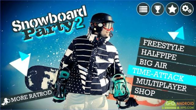 Snowboard Party 2 Game
