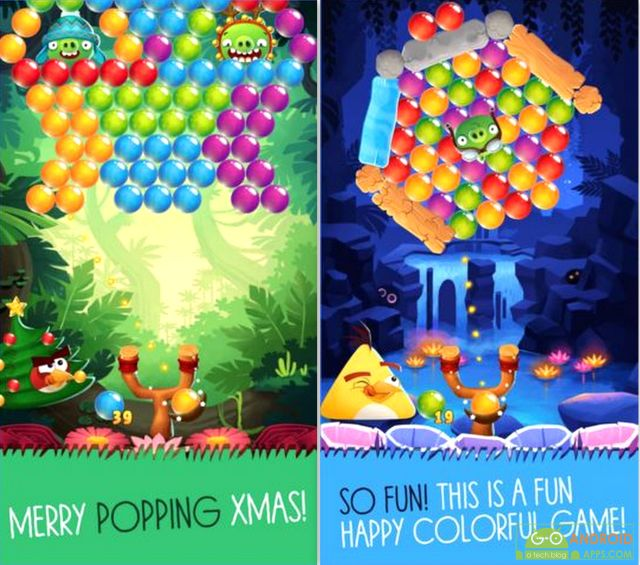 Angry Birds POP Bubble Shooter Game
