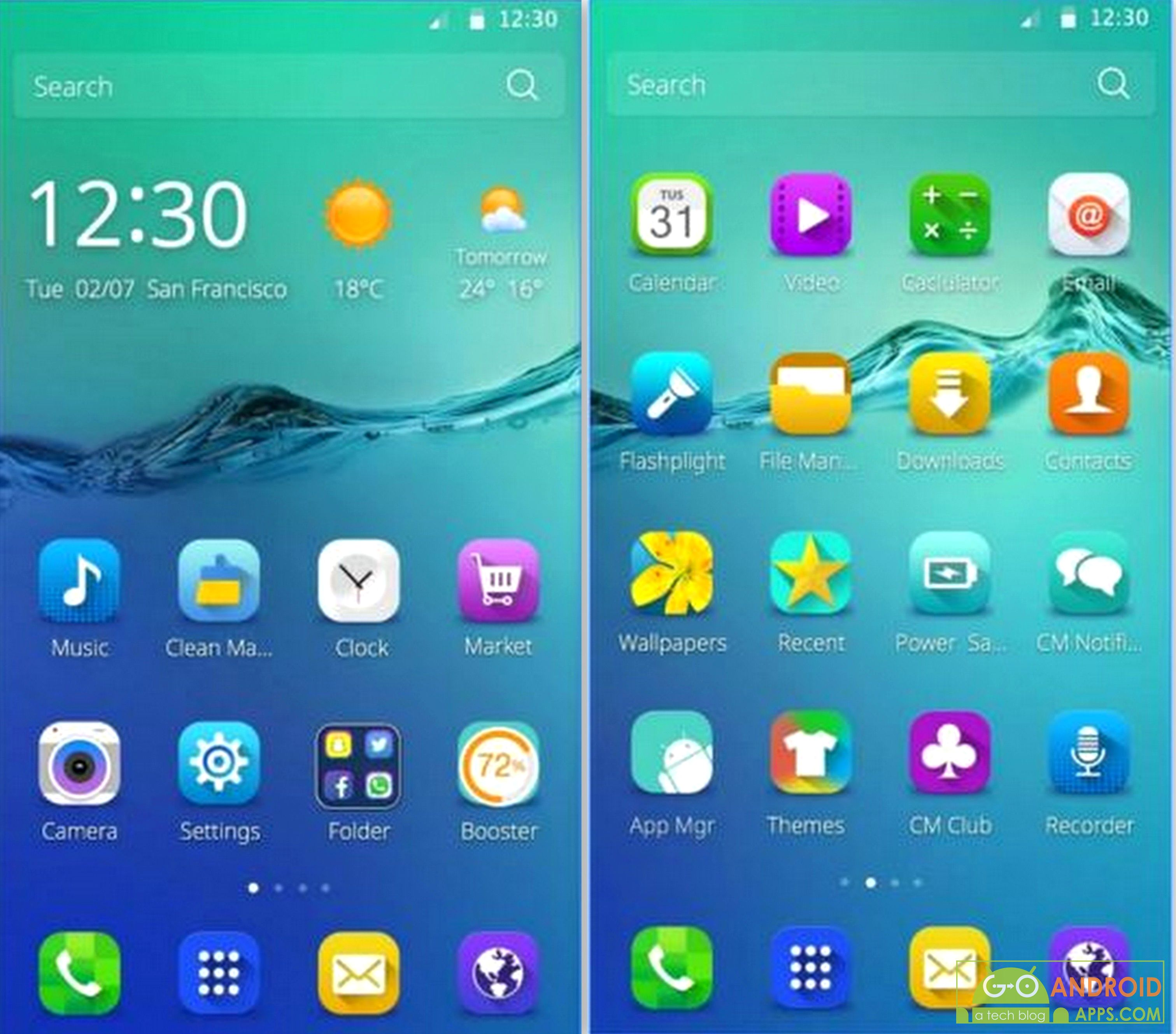 Phone Top Themes For Android Phones 10 best free android themes of 2016 go apps not just create for yourself but also share your beautiful with everyone else personalise phone like never before