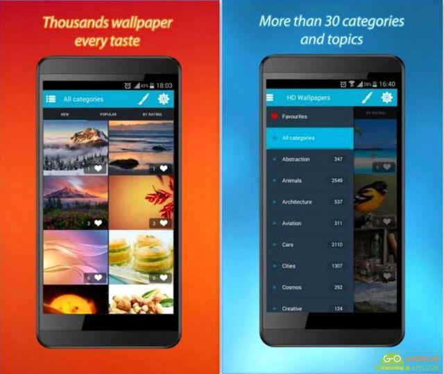 HD Wallpapers App