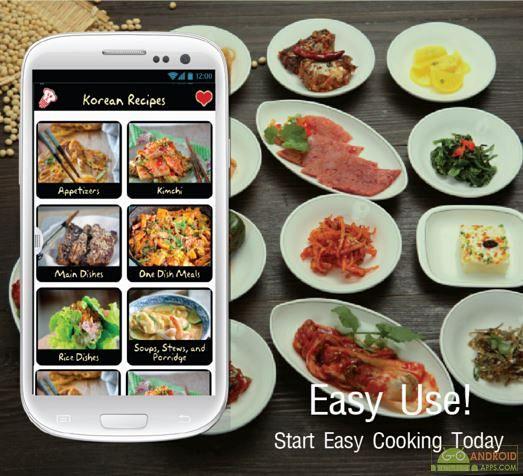 Korean Recipes App