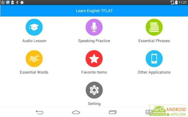 Learn English Conversation App