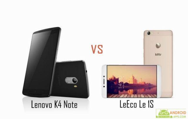 Lenovo K4 Note vs LeEco Le 1S