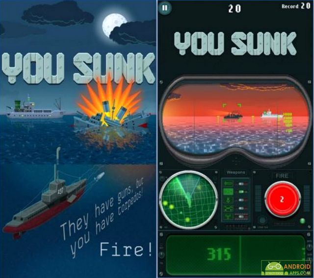 You Sunk for Android Wear Game