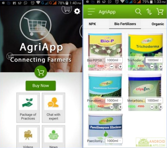 AgriApp for Android