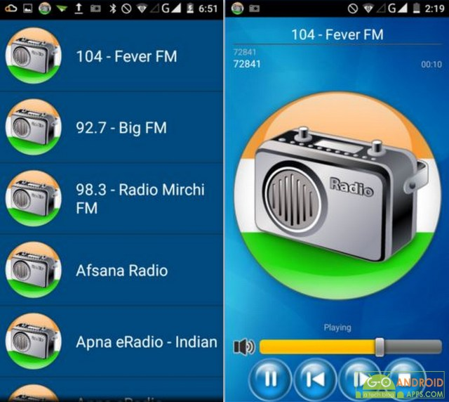 All India FM Radio Live Online App