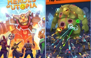 Evolution Heroes of Utopia Game for Android