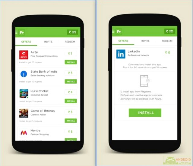 FreePlus Free Mobile Recharge App for Android