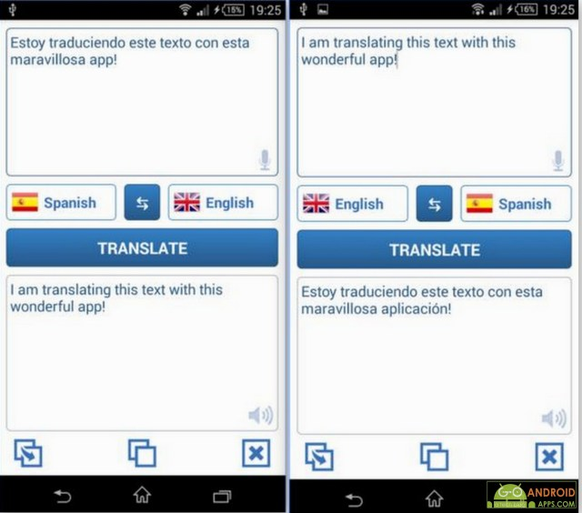 Language Translator App