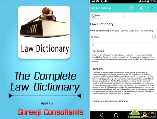 Lawyer Dictionary App