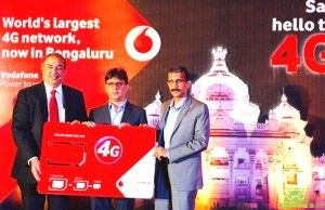 Vodafone 4G Services Launched in Bengaluru City