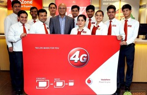 Vodafone now launched 4G services in Mumbai city