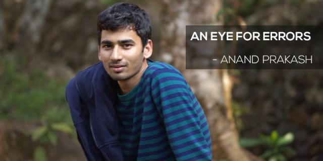 Anand Prakash Bengaluru hacker