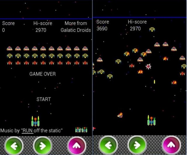 Galatic Attack Game