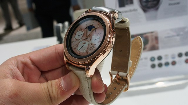 Samsung Gear S2 18K Rose Gold