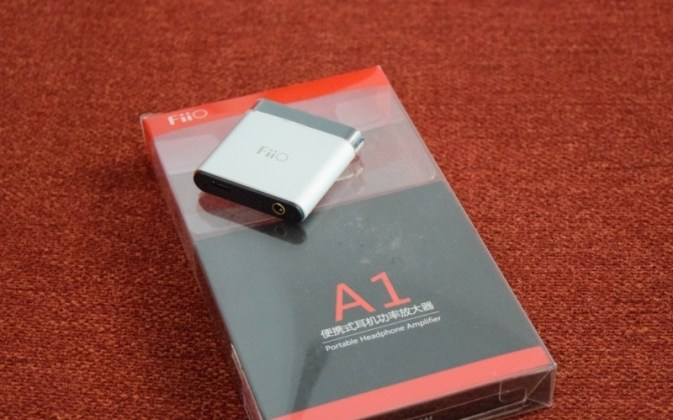 Fiio A1 Portable Headphone Amplifier Box