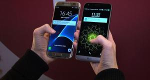 LG G5 vs Samsung Galaxy S7 Edge Smartphone