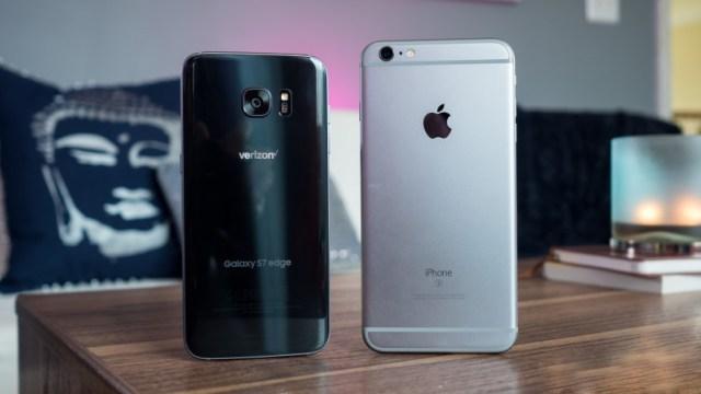 Samsung Galaxy S7 Edge vs iPhone 6s Plus Camera