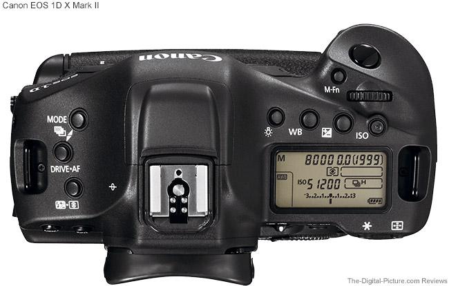 Canon EOS-1D X Mk II Upper Display