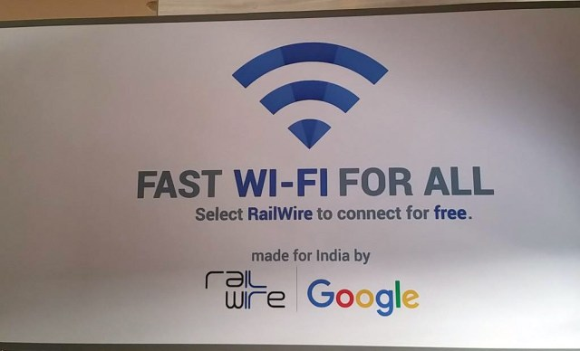 Free public Wi-Fi service on five railway stations launches by Google