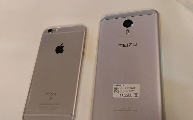 Meizu m3 note vs Iphone 6