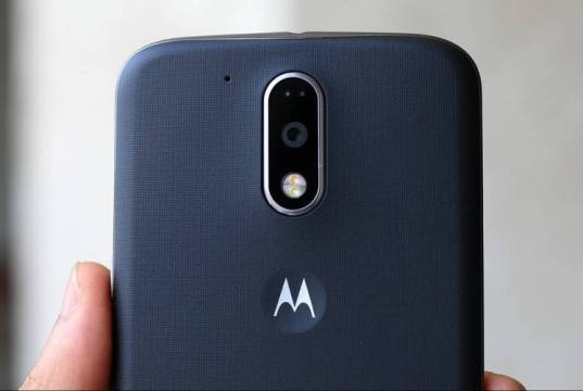 Motorola Moto G4 Plus back